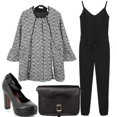 Outfit Jumpsuite nera