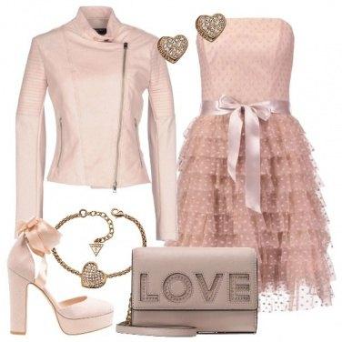 Outfit Una serata tutta rosa