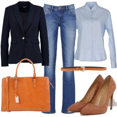 Outfit Casual in ufficio