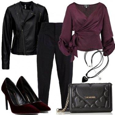 Outfit A cena con San Valentino