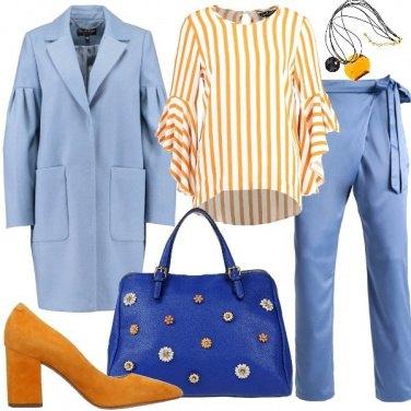 Outfit Maniche in primo piano