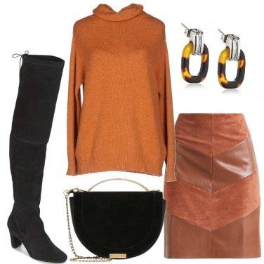 Outfit La gonna a tubino