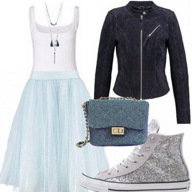 Outfit Toni d\'azzurro