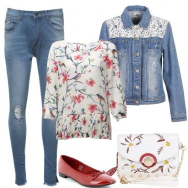 Outfit Mille fiori