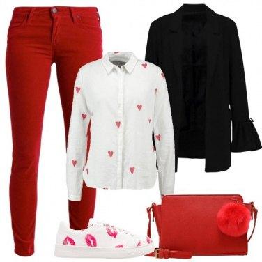 Outfit Cuori e baci