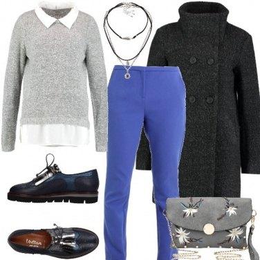 Outfit Borsetta e stringate