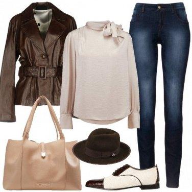 Outfit Stringate e cappello