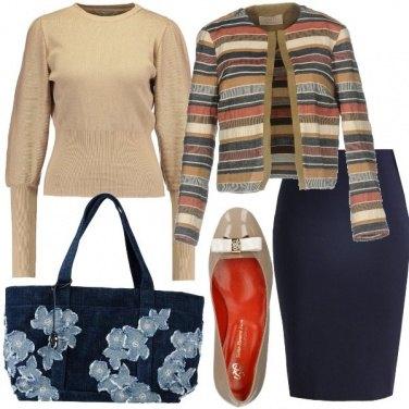 Outfit Bon ton e denim