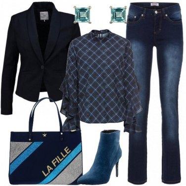 Outfit Oggi scelgo il blu