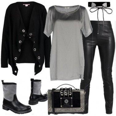 Outfit Seta rock