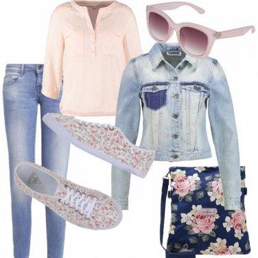 Outfit Rosa e rose