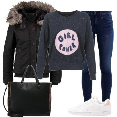 Outfit Potere alle donne