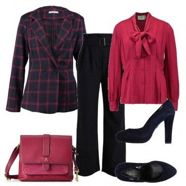Outfit La giacca a quadretti