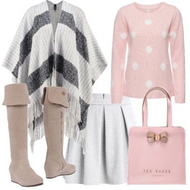 Outfit Romantici pois