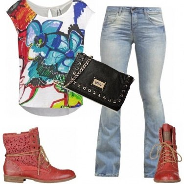 Outfit Stampa creativa