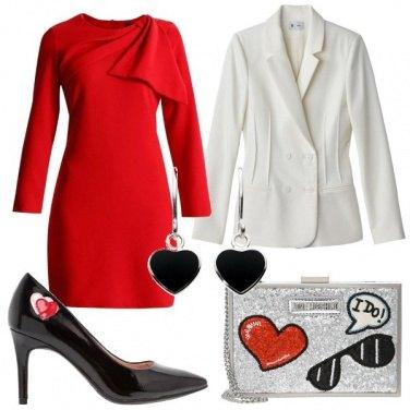 Outfit Cuore rosso Cuore nero