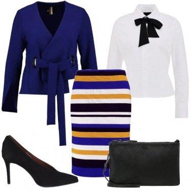 Outfit Bon ton multicolore