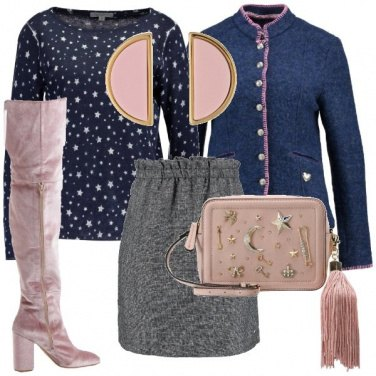 Outfit Rosa eterno