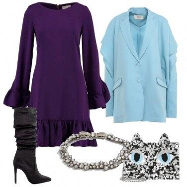 Outfit Inedito abito e blazer