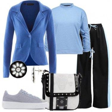 Outfit Comoda ma trendy