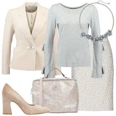 Outfit Gradazioni neutre
