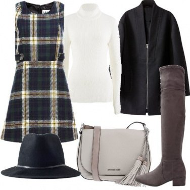 Outfit Vestito smanicato