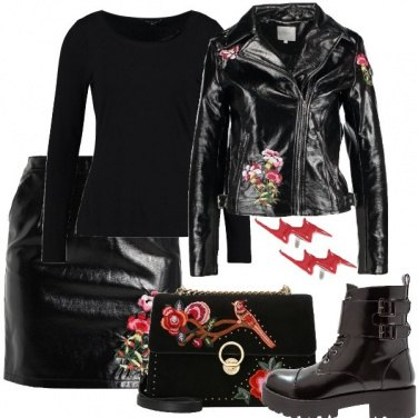 Outfit Anima rock romantica