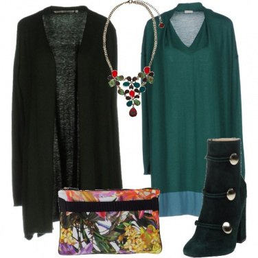 Outfit Fiori a colori