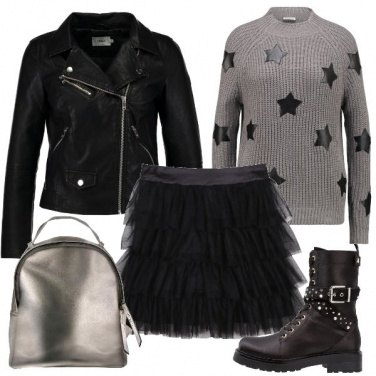Outfit Tulle e stelle