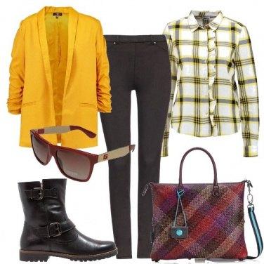 Outfit Quadri a colori