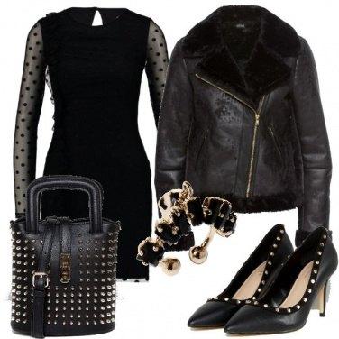 Outfit Tubino e borchie