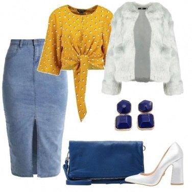 Outfit Con uno sguardo alla primavera