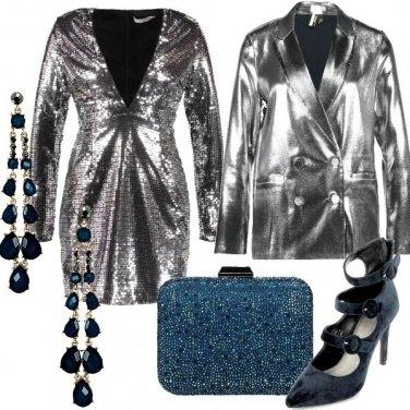 Outfit Scintillanti scollature