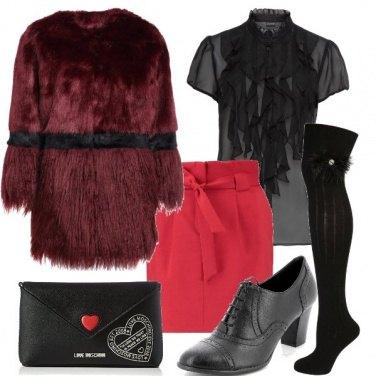 Outfit Minigonna e parigine