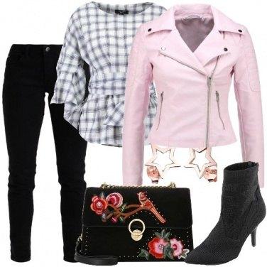 Outfit Stelle e fiori