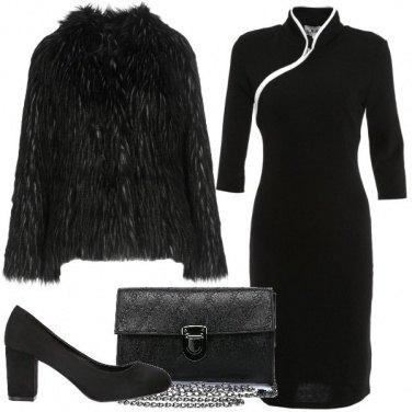 Outfit Zip asimmetrica