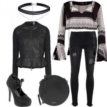Outfit Il nero che ammalia