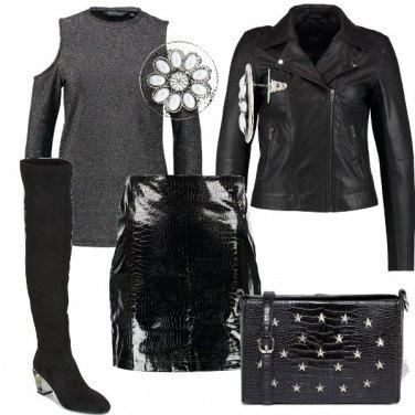 Outfit Alta rock e sexy