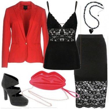 Outfit Un San Valentino sensuale