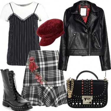 Outfit Rock attitude