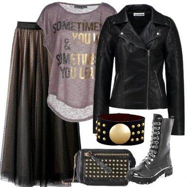 Outfit Rock audace