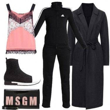 Outfit In tuta con stile