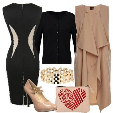Outfit Chic con lo smanicato