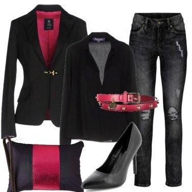 Outfit Piccoli tocchi di colore