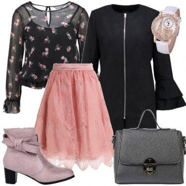 Outfit Romantica e aggraziata