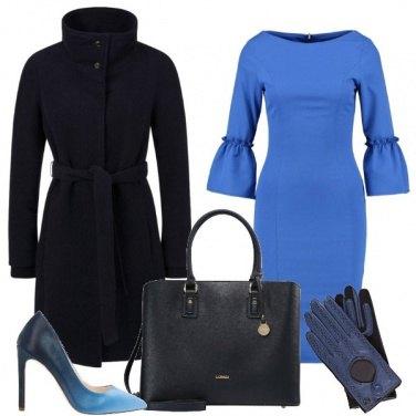 Outfit Adoro il blu
