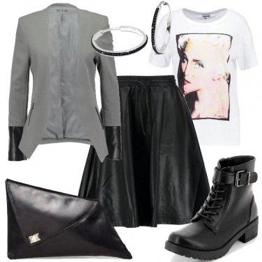 Outfit Anfibi di sera
