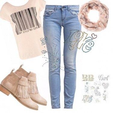 Outfit Personalizza il tuo jeans