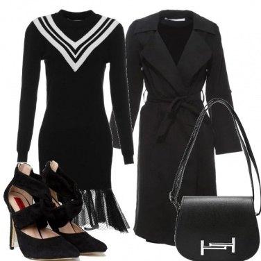 Outfit Vestito con il velo