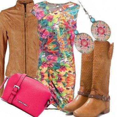 Outfit E vai con il colore...